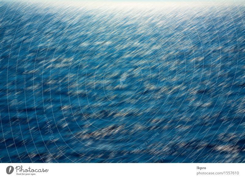 Griechenland-Insel und der Hintergrundhügel Stil schön Tapete Bewegung hell weich blau grün Farbe glühen Bild Entwurf Phantasie Grafik u. Illustration