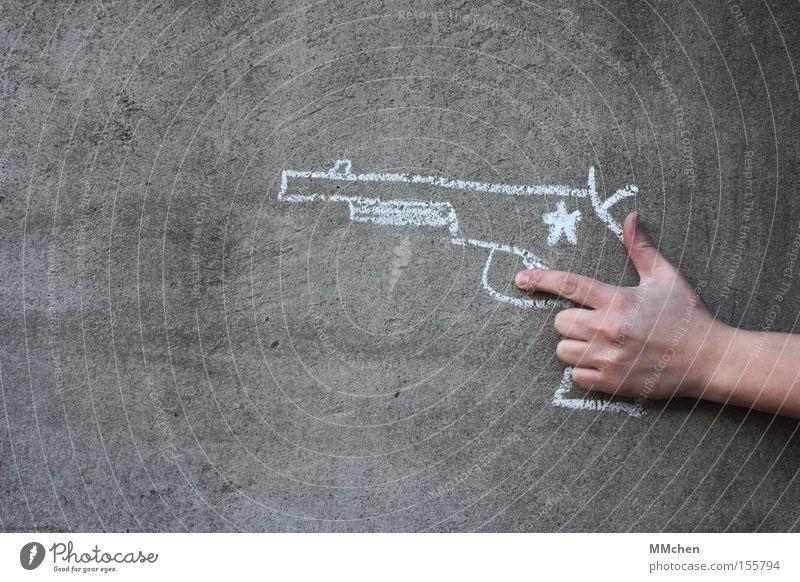 Lo(o)ser Erfolg gefährlich Macht Maske Waffe Spielzeug Karneval Gewalt Comic Karnevalskostüm Mensch verkleiden Pistole Cowboy schießen Schuss