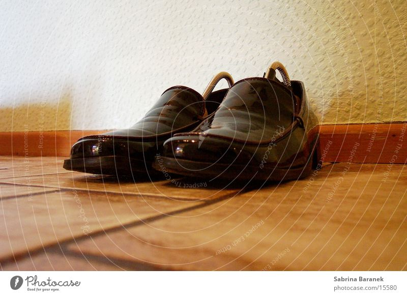 feine schuhe... schwarz Schuhe Dinge Lack