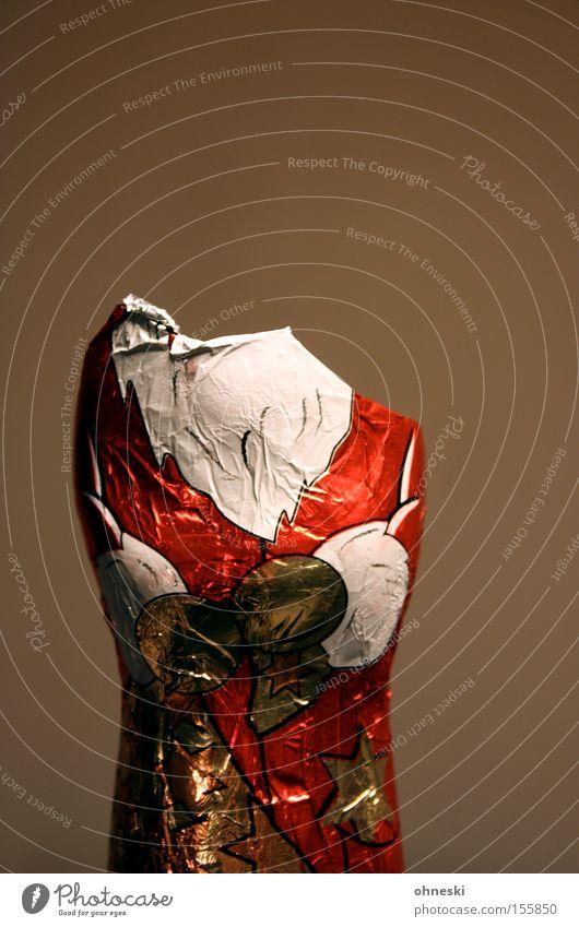 Kopflos Weihnachtsmann Weihnachten & Advent Schokolade Süßwaren kopflos ratlos unaufmerksam Ernährung Schokoladenweihnachtsmann