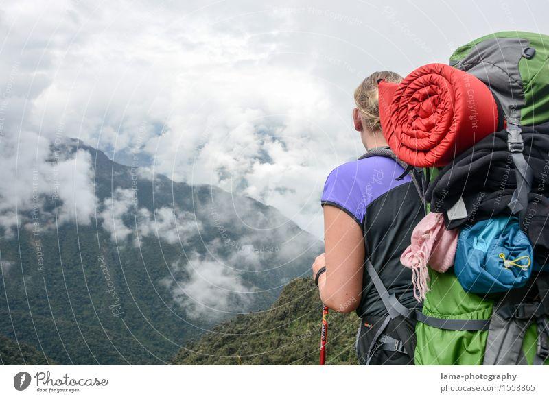 Point of View Ferien & Urlaub & Reisen Tourismus Ausflug Abenteuer Ferne Freiheit Expedition Camping Berge u. Gebirge wandern Rucksacktourismus Rucksackurlaub