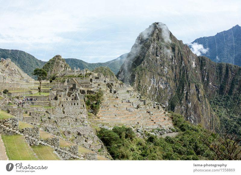 Machu Picchu Ferien & Urlaub & Reisen Tourismus Ausflug Abenteuer Sightseeing Natur Landschaft Berge u. Gebirge Machu Pichu Gipfel Heiliges Tal Cuzco Peru
