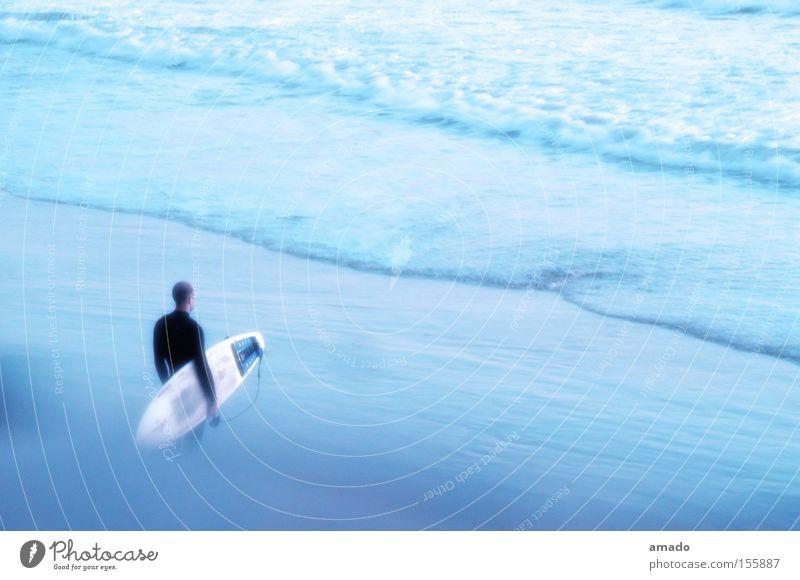 Surfer Meer Sommer Strand Sport Wellen Freizeit & Hobby Surfen Surfer Wassersport Marokko Surfbrett Agadir