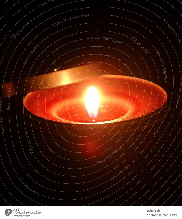 Dosen-Kerze Licht Nacht Wachs Club Flamme