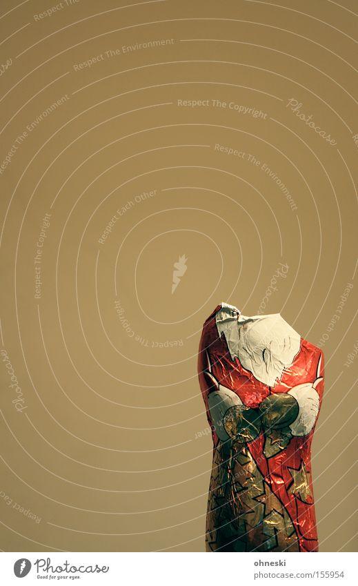 Kopflos II Weihnachtsmann Weihnachten & Advent kopflos ratlos unaufmerksam Schokolade Süßwaren Ernährung Schokoladenweihnachtsmann