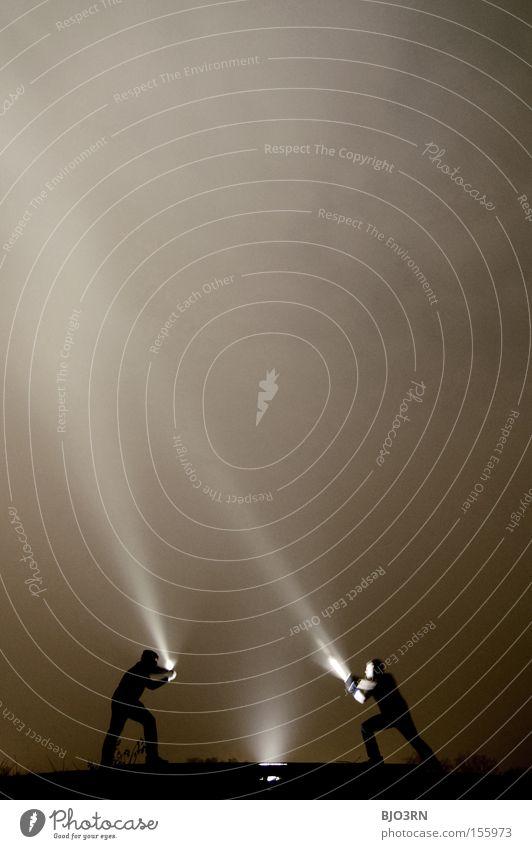 Meister Lampe VS. Ray McShine #2 dunkel Strahlung kämpfen Sportveranstaltung Licht Konkurrenz Anordnung Kampfsport gegenüber Gegenüberstellung