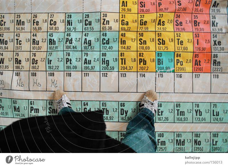 auf seltenen erden Schule Studium lernen Mathematik Wissenschaften Bildung Tafel Physik Biologie Chemie Schulunterricht elektronisch elektrisch Atom Teilchenphysik Synthese