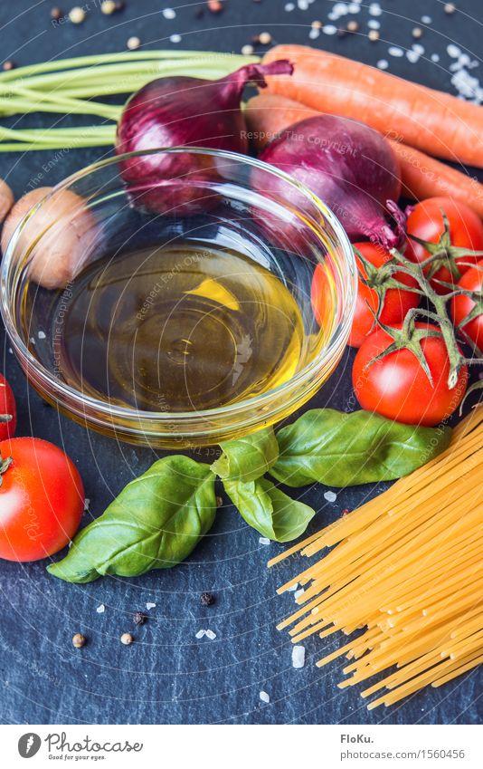 italienisch kochen grün Gesunde Ernährung rot gelb Gesundheit Lebensmittel orange frisch genießen Kräuter & Gewürze violett lecker Gemüse Bioprodukte Backwaren