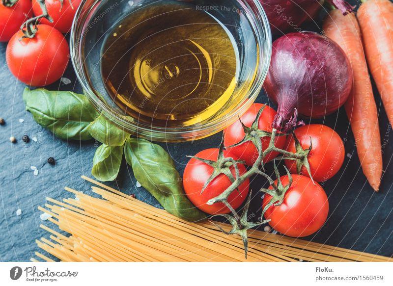 Pasta Einzelteile grün rot gelb Gesundheit Lebensmittel orange frisch Ernährung genießen Kräuter & Gewürze violett lecker Gemüse Bioprodukte Backwaren