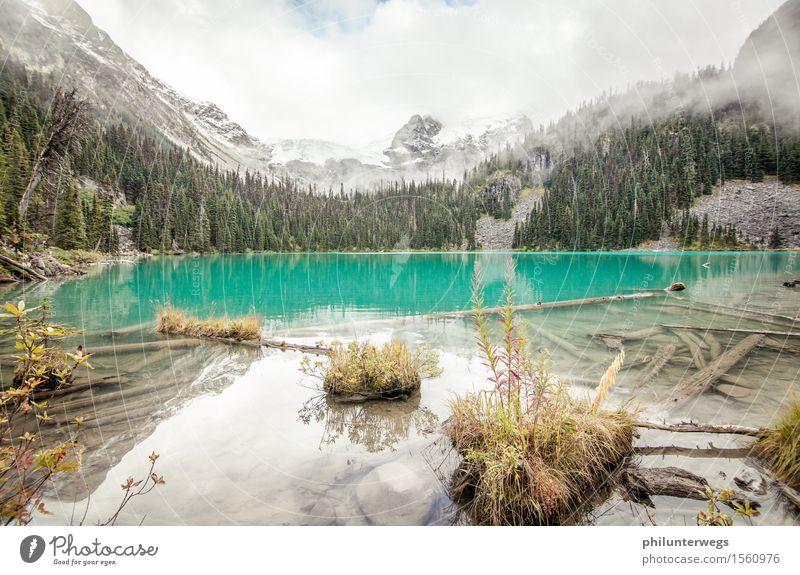 Lagune aufm Berg Natur Pflanze blau Landschaft Wolken Berge u. Gebirge Umwelt Küste Freiheit See Schneefall Zufriedenheit wandern Idylle ästhetisch