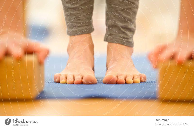 Bald hab ich den Boden... Gesundheit Leben harmonisch Wohlgefühl ruhig Meditation Freizeit & Hobby Sport Yoga Mensch Arme Hand Beine Fuß Zehen dünn Matten üben