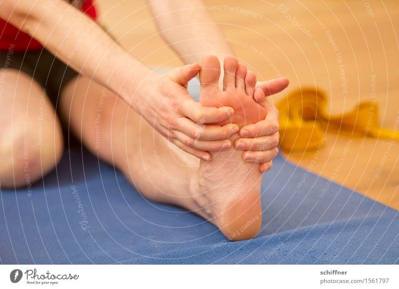 grausam | wenn die Fußsohle juckt Gesundheit sportlich Fitness Wellness harmonisch Wohlgefühl Erholung ruhig Meditation Freizeit & Hobby Sport Yoga Mensch Arme
