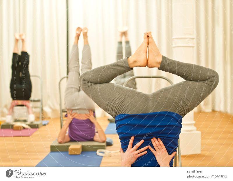 Spieltrieb | Froschkönigin Pediküre Gesundheit sportlich Fitness Wellness Erholung Meditation Freizeit & Hobby Spielen Sport Yoga Mensch Frau Erwachsene Gesäß