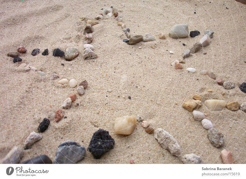 sternchen! Strand Sandkorn Stern (Symbol) Stein