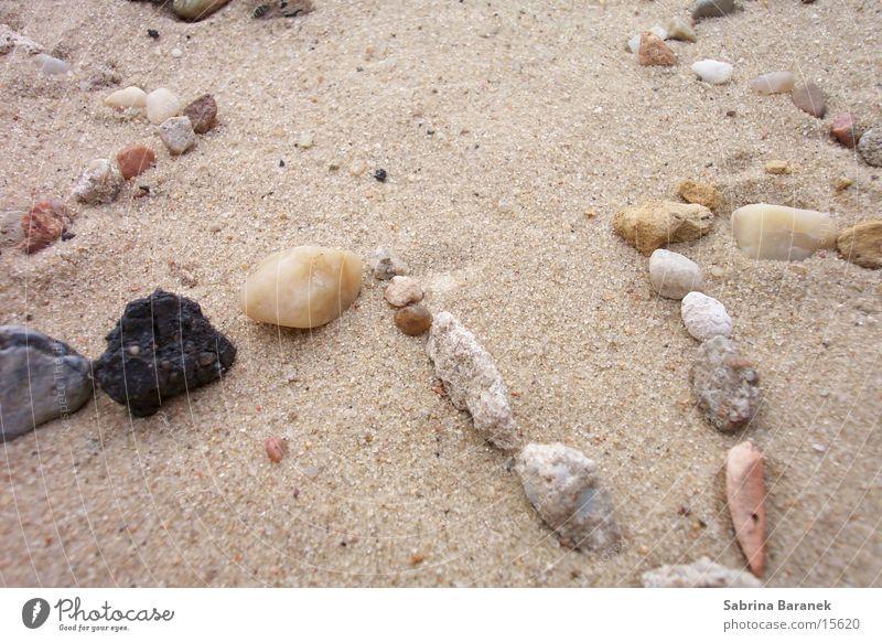 sternzacke! Strand Stein Sand Sandkorn