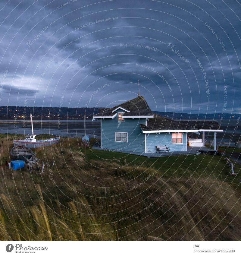 Sturm im Anflug - Alaska 30 Leben Ferien & Urlaub & Reisen Ausflug Ferne Meer Wohnung Haus Fahrradfahren Natur Landschaft Urelemente Luft Gewitterwolken