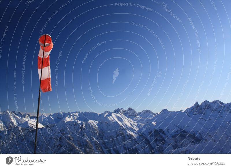 Panorama Schnellzug Alpen Wette Winter Allgäu Natur Bayern Deutschland Panorama (Aussicht) Montan Oberstdorf Canon EOS snow landscape groß