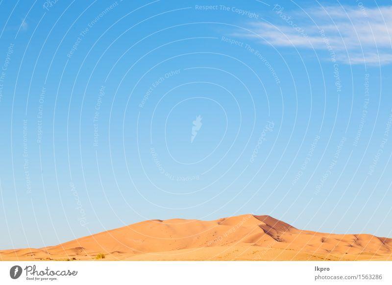 Spanien-Beschaffenheitszusammenfassung eines trockenen Sandes und des Strandes in Lanzarote Ferien & Urlaub & Reisen Abenteuer Safari Sonne Natur Landschaft