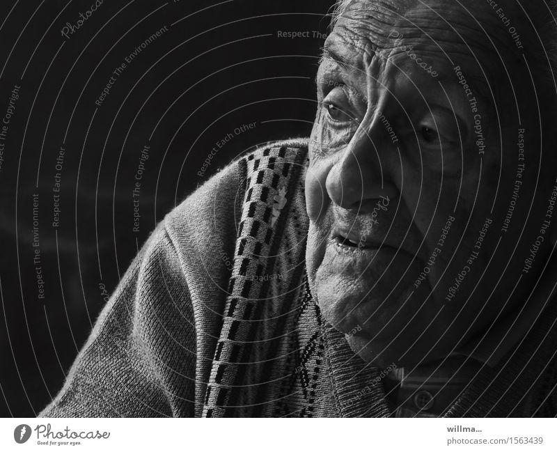 der erzählmeister Mann alt Gesicht Erwachsene sprechen Senior Religion & Glaube Gesundheitswesen Kommunizieren Hoffnung Männlicher Senior Hautfalten hören