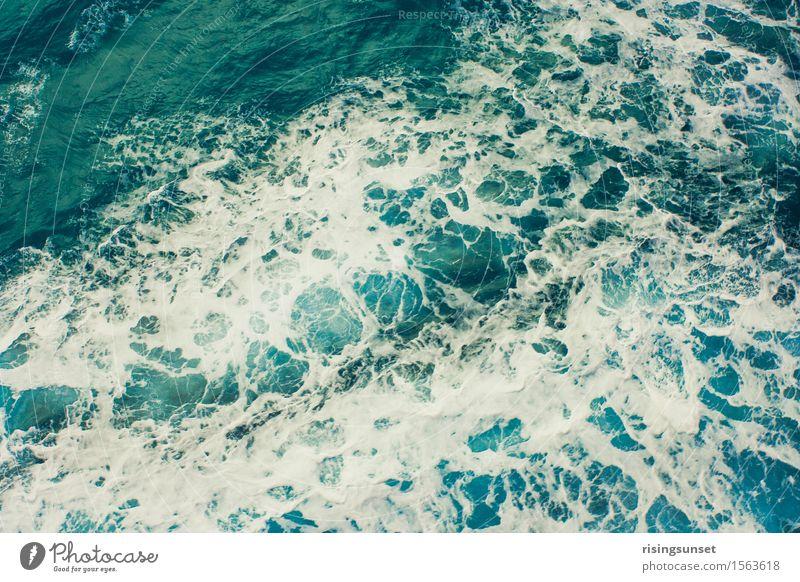 Die Nordsee Natur Ferien & Urlaub & Reisen blau grün Wasser weiß Meer Erholung natürlich Freiheit Schwimmen & Baden glänzend Wellen ästhetisch Wind groß