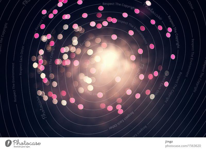 Urknall Feuerwerk Silvester u. Neujahr Feste & Feiern glänzend leuchten außergewöhnlich hell rosa schwarz Begeisterung Euphorie chaotisch Desaster Unendlichkeit