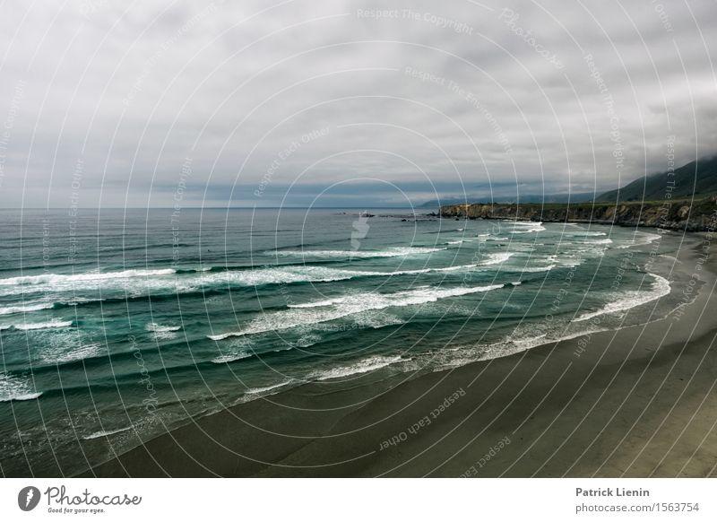 West Coast Himmel Ferien & Urlaub & Reisen Sommer Wasser Meer Landschaft Wolken Ferne Strand Wärme Küste Freiheit Felsen Regen Tourismus Wetter
