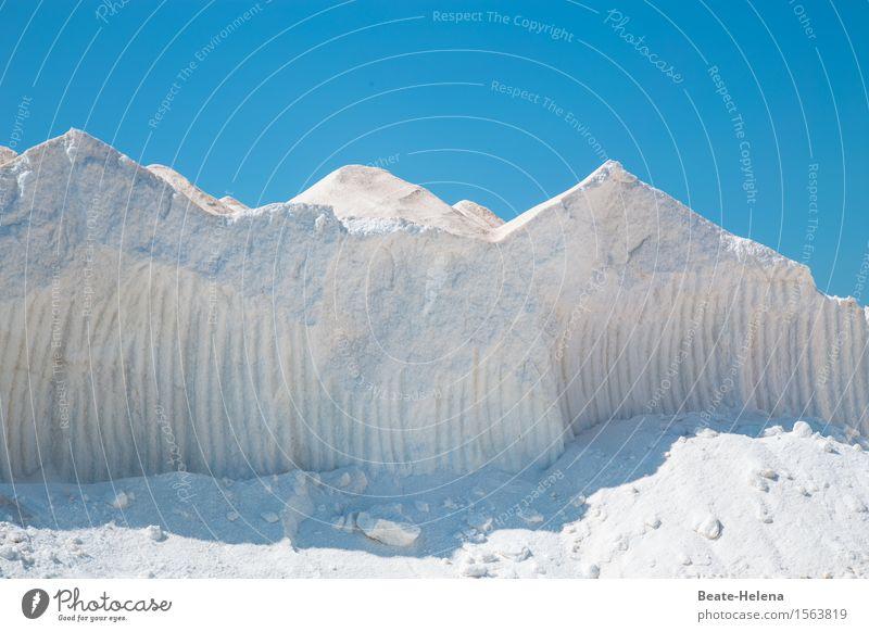 Weißheit | Weißes Gold Himmel Natur blau Farbe Sommer weiß Landschaft Berge u. Gebirge Umwelt außergewöhnlich Lebensmittel Arbeit & Erwerbstätigkeit ästhetisch