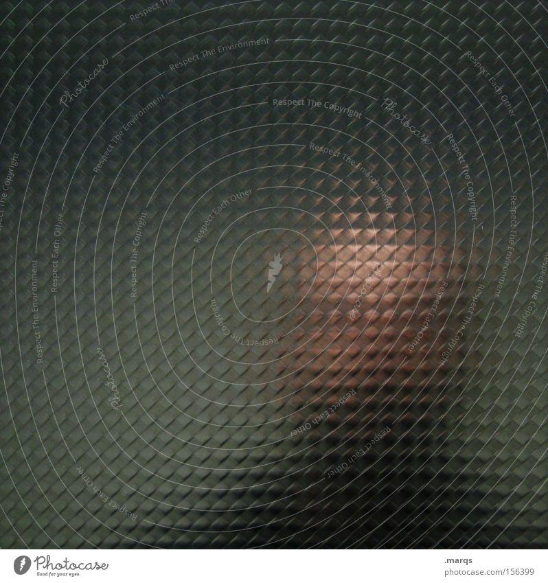 id Farbfoto Gedeckte Farben abstrakt Muster Strukturen & Formen Textfreiraum links Blick Spiegel Mensch maskulin Mann Erwachsene Kopf 1 außergewöhnlich dunkel