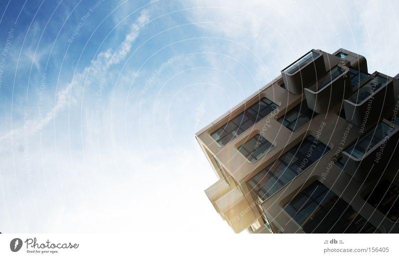 .:: HAFENcity ::. Himmel weiß blau Wolken Glas Hamburg modern Hafencity