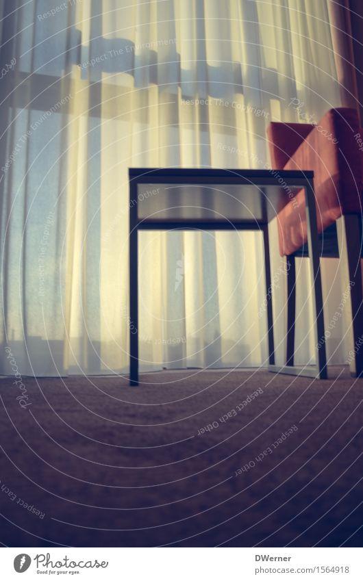 Guten Morgen Fenster Innenarchitektur rosa Wohnung Raum glänzend Häusliches Leben leuchten Dekoration & Verzierung Tisch schlafen Freundlichkeit Stuhl Möbel Mut