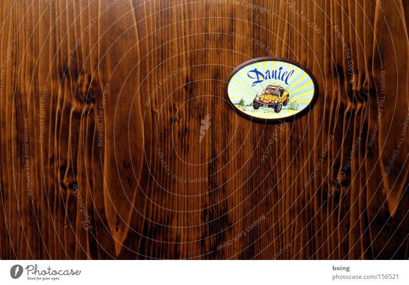 Dune Buggy Driver Daniel´s Office Cabrio KFZ Schilder & Markierungen Namensschild Gebrauchtwagen Tür Kinderzimmer Motorsport Hinweisschild Hinterhofwerkstatt