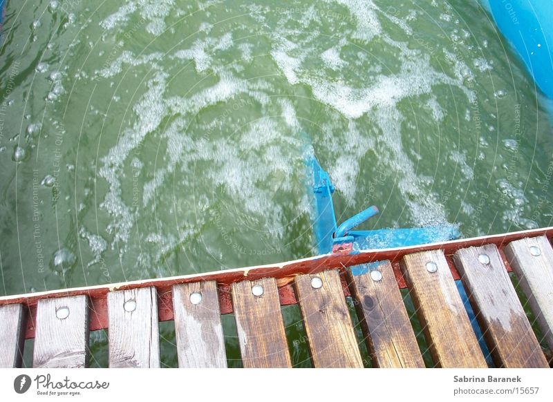 strudel Wasser See Wasserfahrzeug blasen Schraube Schaum