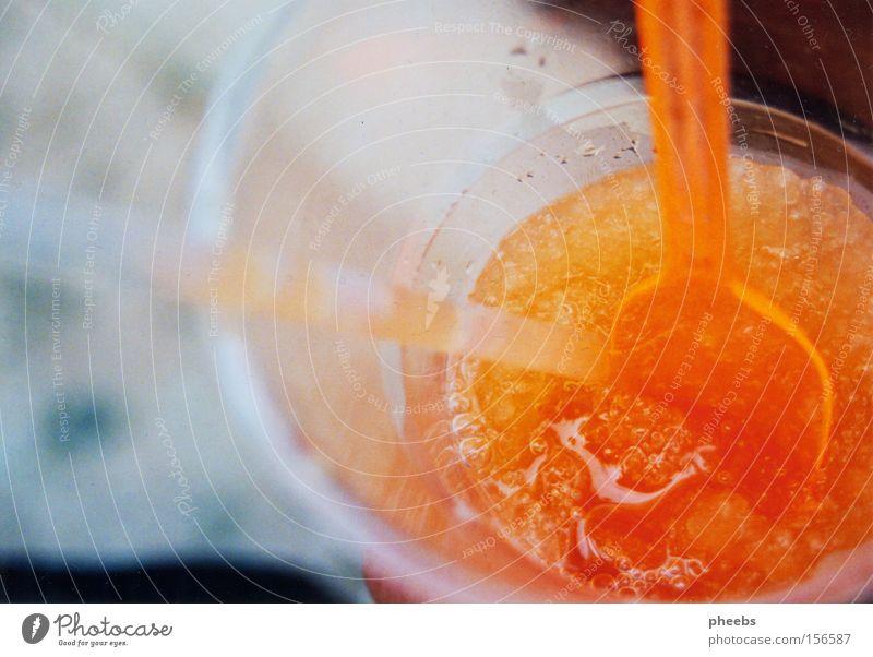 mangoeisgetränk Sommer Ferien & Urlaub & Reisen gelb Eis orange Getränk Erfrischung Verlauf Durst Lebensmittel Mango