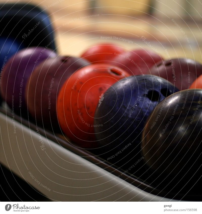 strike Freude Farbe Sport Spielen Freizeit & Hobby Kugel Sportveranstaltung Bowling Bowlingbahn