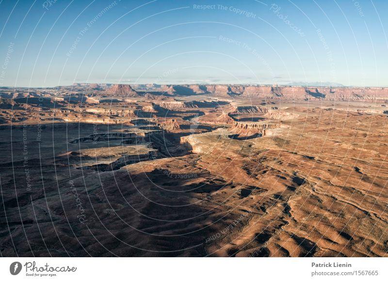 Canyonlands Himmel Natur Ferien & Urlaub & Reisen Pflanze Sommer Landschaft Berge u. Gebirge Park Wetter Erde Aussicht Klima Schönes Wetter Abenteuer Urelemente