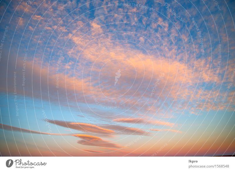 weiche Wolken und abstrakter Hintergrund Himmel Natur Himmel (Jenseits) schön Farbe Sonne rot Umwelt natürlich Freiheit hell Wetter Dekoration & Verzierung