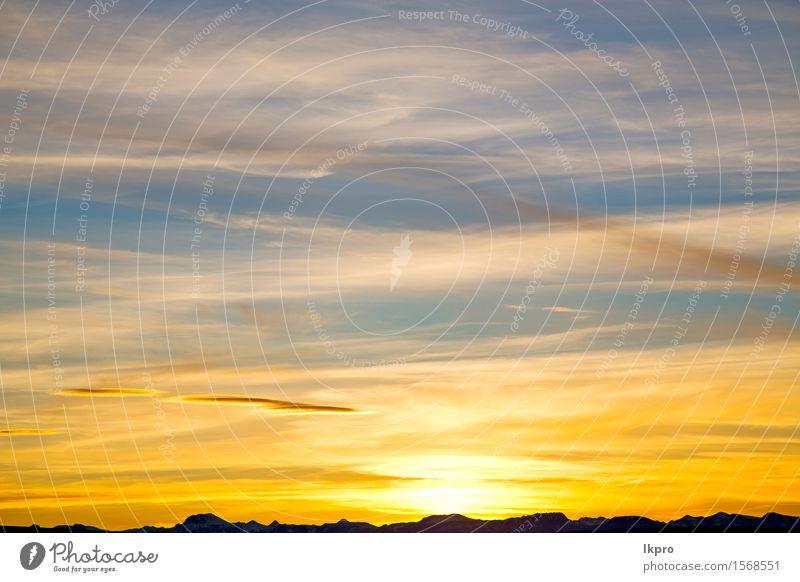 e weiche Wolken und abstrakter Hintergrund schön Freiheit Sonne Berge u. Gebirge Dekoration & Verzierung Tapete Umwelt Natur Himmel Wetter hell natürlich rot