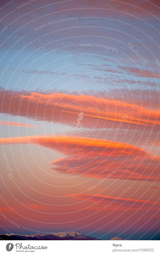 Wolken und abstrakter Hintergrund Himmel Natur Himmel (Jenseits) schön Farbe Sonne rot Umwelt natürlich Schnee Freiheit hell Wetter Dekoration & Verzierung