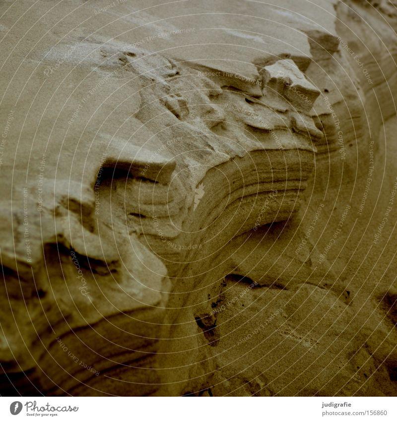 Strandformen Sand Strukturen & Formen Küste Natur Umwelt Ostsee Meer Farbe
