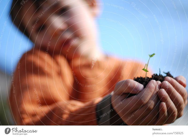 Hegen und Pflegen Natur Umwelt Frühling Gesundheit Zukunft Kontrolle Sorge Kindererziehung ziehen nachhaltig Entwicklung sorgsam Arbeit & Erwerbstätigkeit Sozialer Dienst