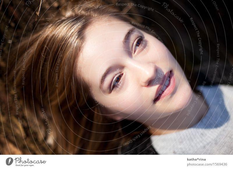 Frühling . vi Mensch feminin Junge Frau Jugendliche Gesicht 1 18-30 Jahre Erwachsene schön rosa zart Farbfoto Gedeckte Farben Außenaufnahme Textfreiraum links