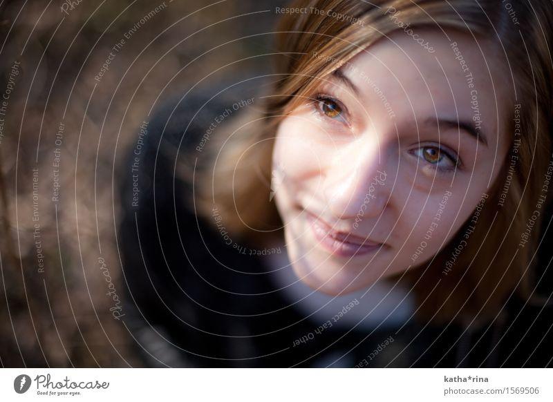Rehbraun . ii Mensch Jugendliche schön Junge Frau Erotik 18-30 Jahre Gesicht Erwachsene Auge natürlich feminin Zufriedenheit Fröhlichkeit Freundlichkeit