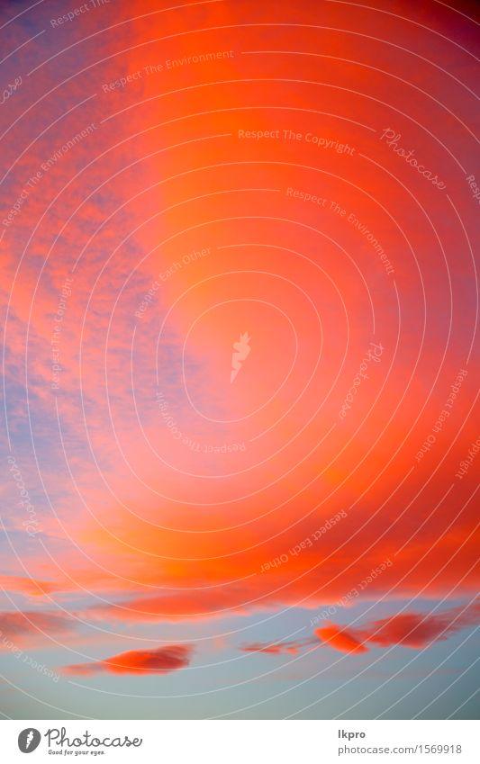 Wolken und abstrakter Hintergrund Himmel Natur Himmel (Jenseits) schön Farbe Sonne rot Umwelt natürlich Freiheit hell Wetter Dekoration & Verzierung