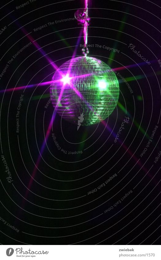 disco 01 Langzeitbelichtung discokugel 01
