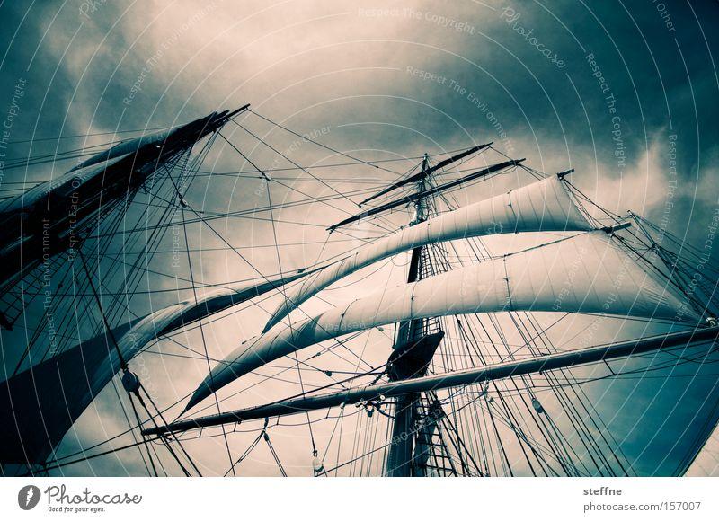 Pirates of the Caribbean Meer Ferien & Urlaub & Reisen Wasserfahrzeug Kraft Macht historisch Schifffahrt Krieg Segel Segelboot Segelschiff beeindruckend maritim