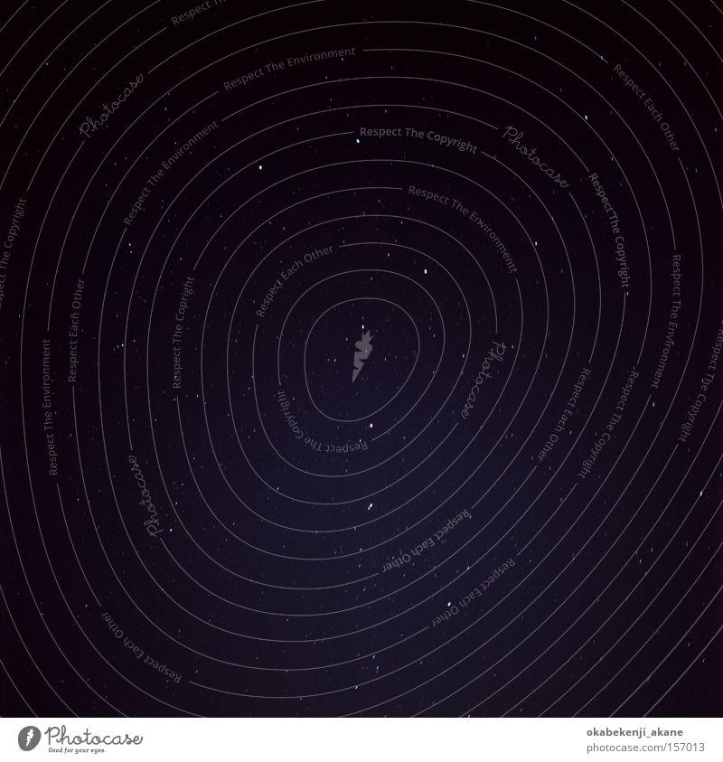 Sterne #2 Nacht Nachthimmel Himmel Platz Winter Japan schwarz Himmelskörper & Weltall der große Wagen Schererei Sternenhimmel
