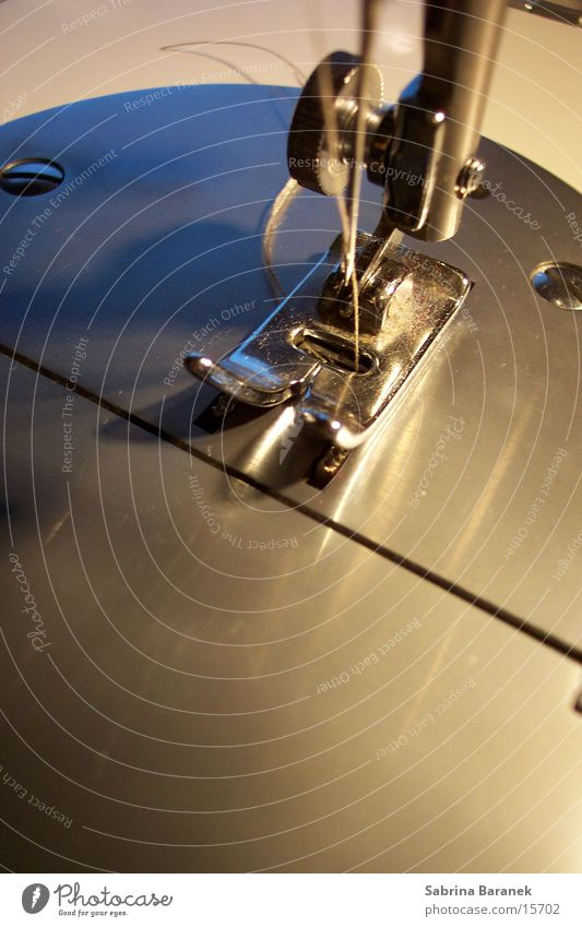 nähmaschine Freude Handwerk Maschine Nähgarn Nadel Nähen fleißig Plattform Geschicklichkeit