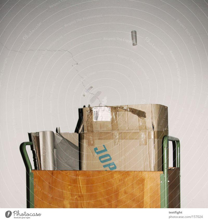 jop Industrie Müll Karton Verpackung gebraucht