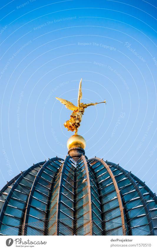 Zitronenpresse 3 Ferien & Urlaub & Reisen blau Architektur Gebäude Tourismus Gold historisch Sehenswürdigkeit Bauwerk Wahrzeichen Städtereise Hauptstadt