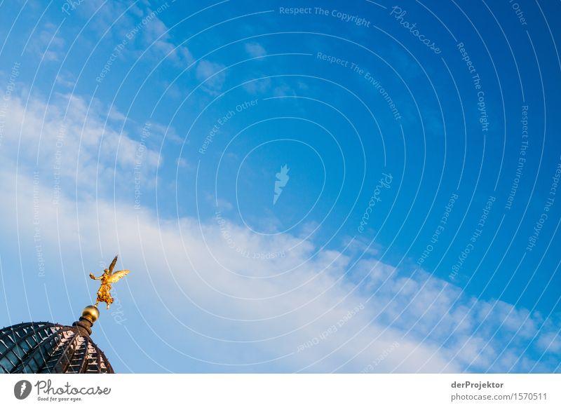 Zitronenpresse 4 Himmel Ferien & Urlaub & Reisen blau Architektur Gebäude Tourismus Freiheit Gold Neugier Sauberkeit Sehenswürdigkeit Bauwerk Wahrzeichen